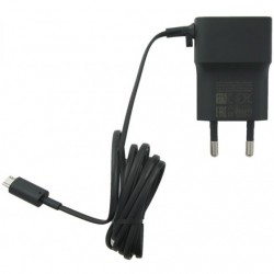 Nokia micro USB Wall Charger Μαύρο (AC-18E)