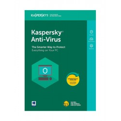 KASPERSKY Anti-Virus 2018, 3 PC, 1 έτος